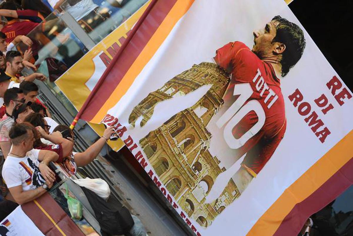 Il Tempo sull'addio di Totti: