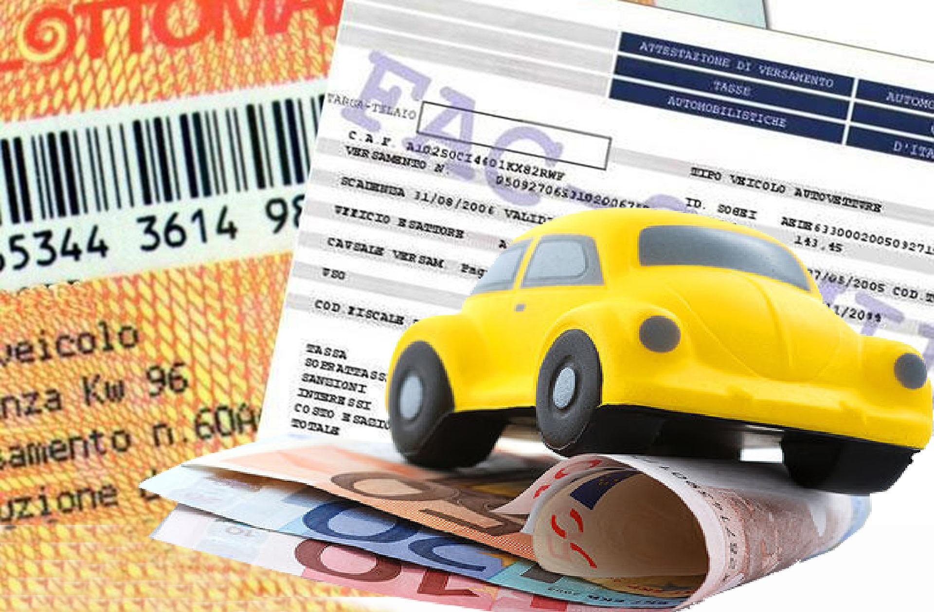 Bollo auto: prelievo forzoso nel conto corrente se non paghi