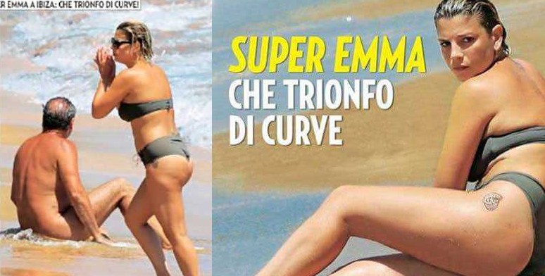 emma marrone nudista