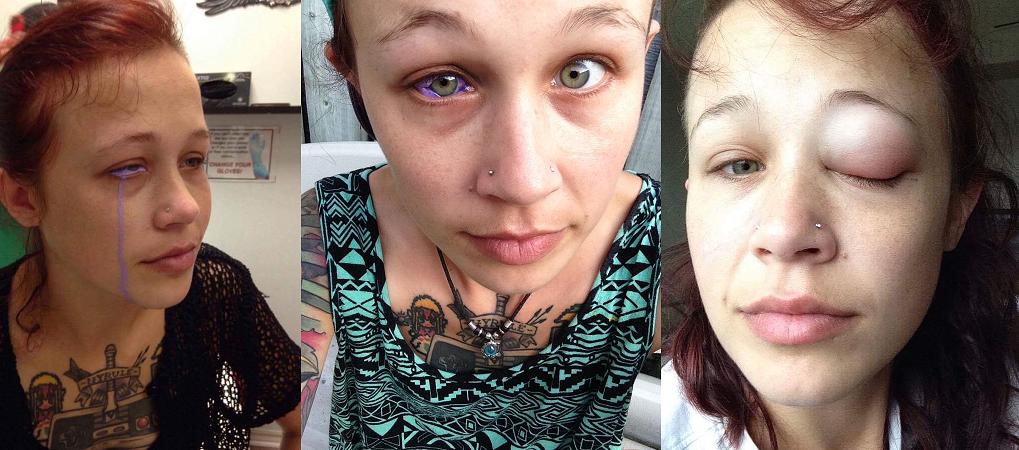 catt gallinger eyeball tattoo
