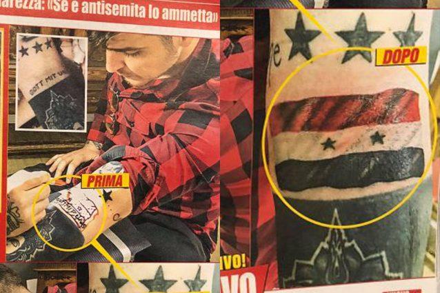 luigi favoloso tatuaggio nazista