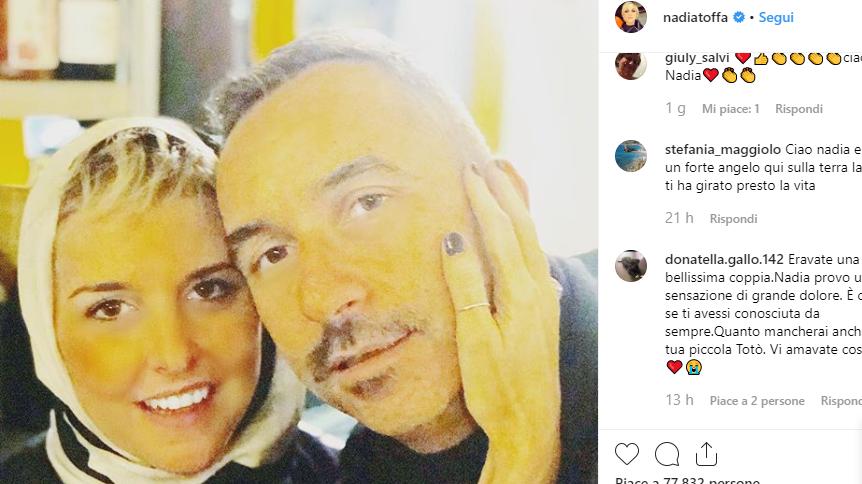 """Nadia Toffa, parla l'ex fidanzato: """"Ho raccolto il suo ultimo desiderio"""""""