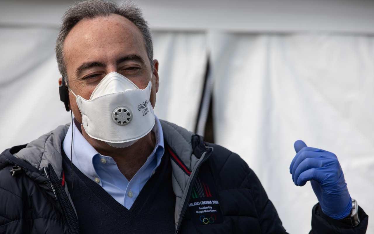 """Gaffe Gallera: """"Per prendere il virus devo trovare due contagiati contemporaneamente"""" – VIDEO"""