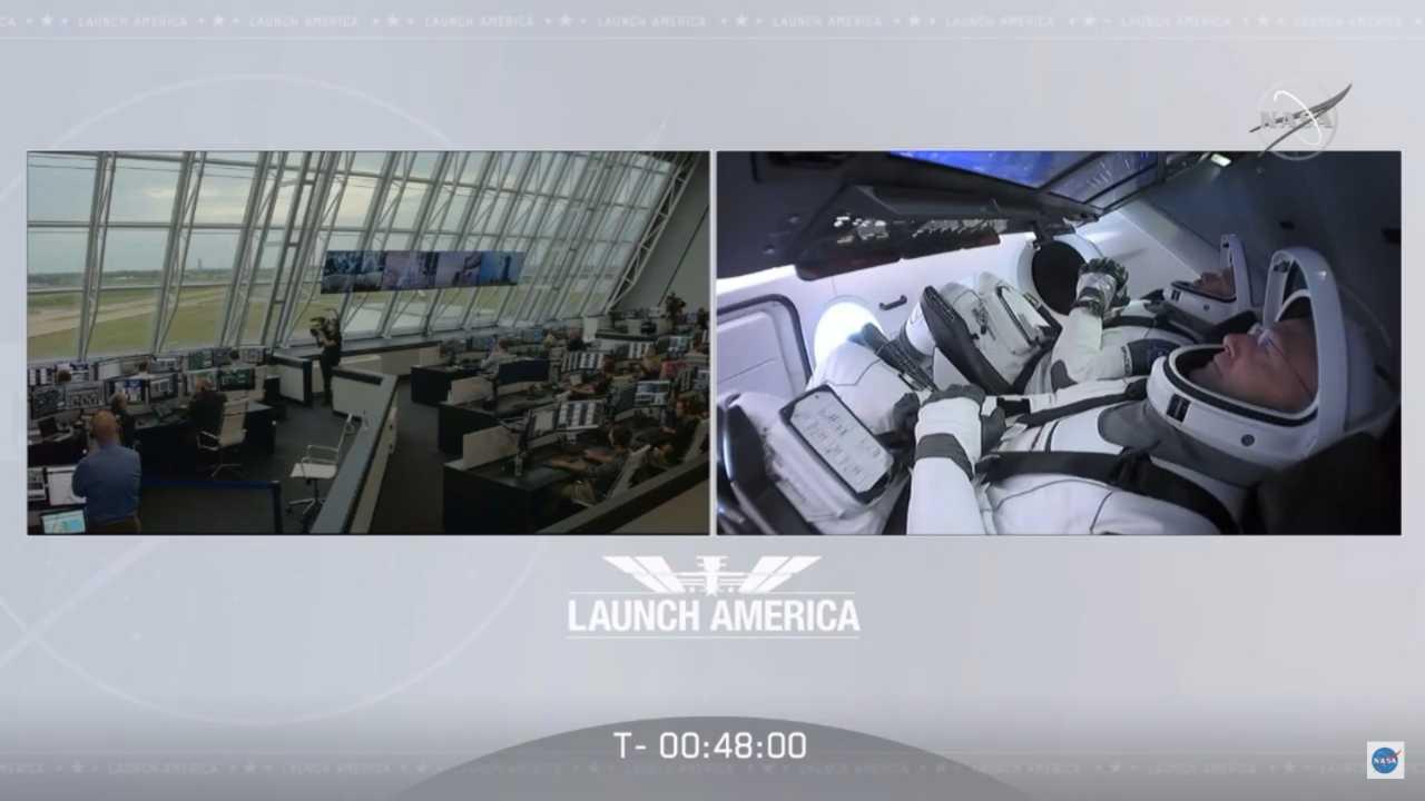 Crew Dragon nello spazio. CLAMOROSO: tutto rinviato! LO STREAMING LIVE