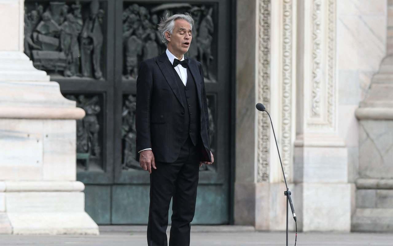 """La confessione di Bocelli: """"Ho avuto il coronavirus"""""""