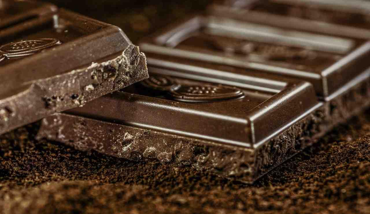 Granita cioccolato ricetta