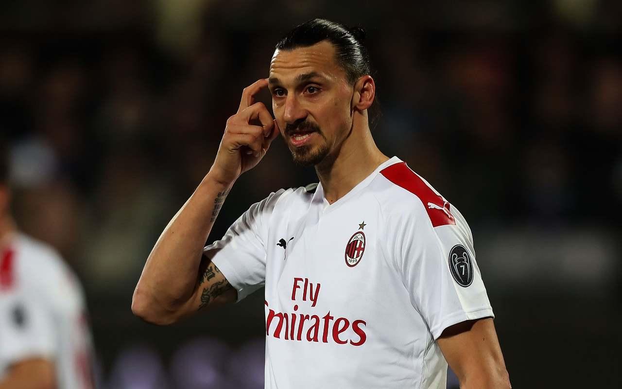 Milan, infortunio Ibrahimovic: arriva il responso sui tempi di recupero