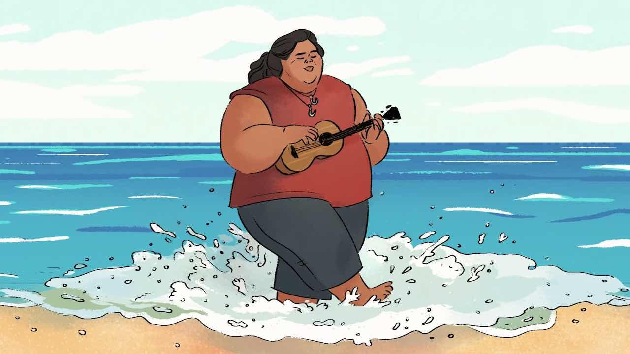 """Israel Kamakawiwoʻole e la sua """"Over the Rainbow"""", nel doodle di Google"""