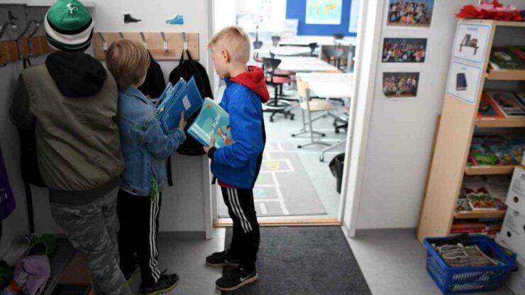 Bambini di una Scuola elementare