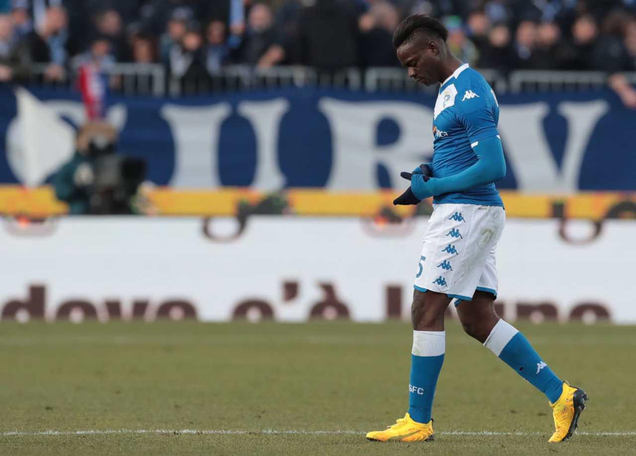 Mario Balotelli dice addio al Brescia: rescissione ad un passo
