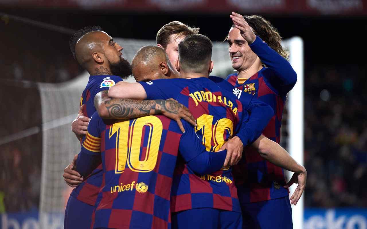 Barcellona, la rivelazione: 5 calciatori positivi al coronavirus