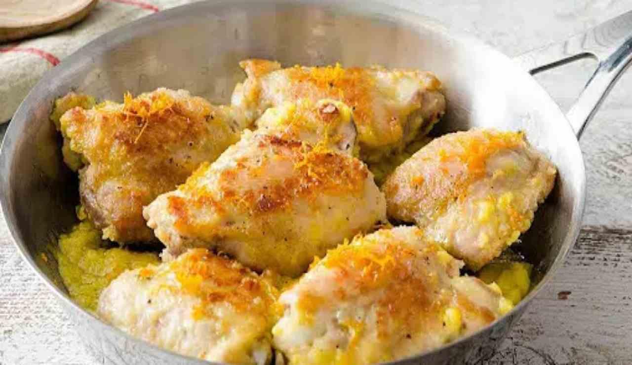 Pollo arancia ricetta