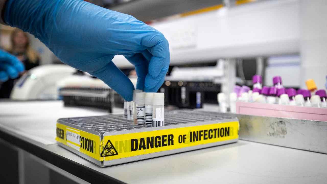 provette di campioni di laboratorio
