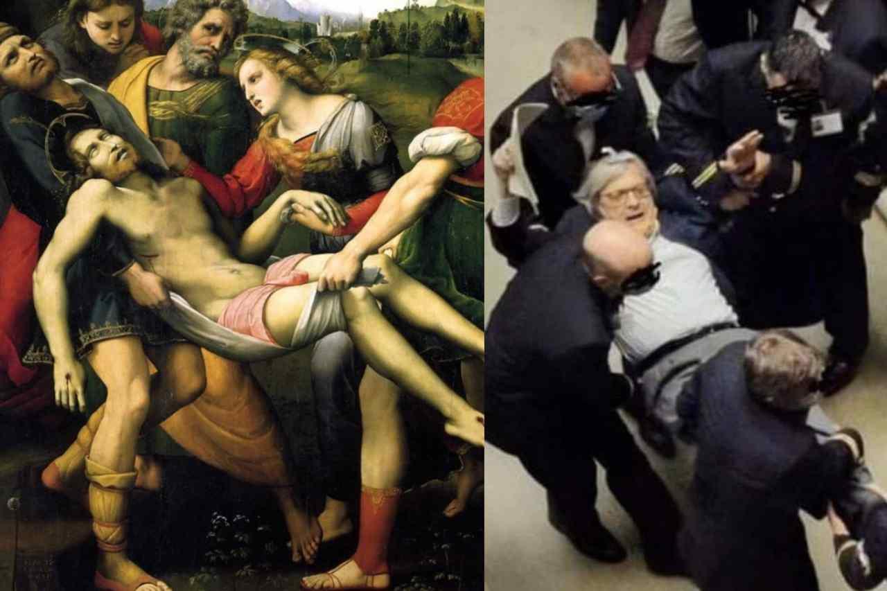 """Sgarbi cacciato dall'Aula, i social: """"Quando esageri a fare il critico d'arte"""""""