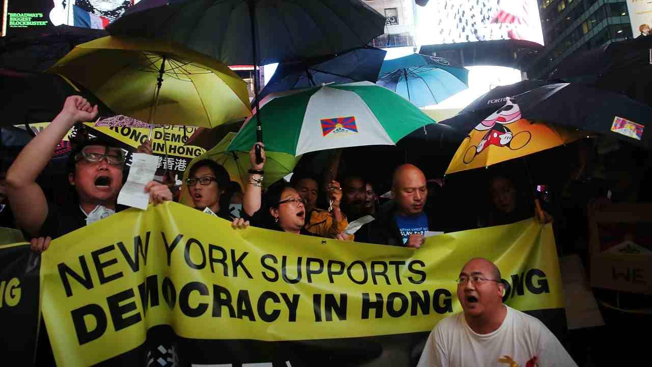 hong kong new york times proteste new york