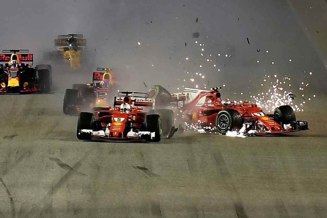 Formula Uno, non solo Leclerc Vettel: gli incidenti tra comp