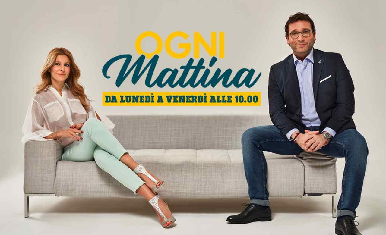 Ogni Mattina, primi dissidi: gelo in studio tra Adriana Volpe ed Alessio ...