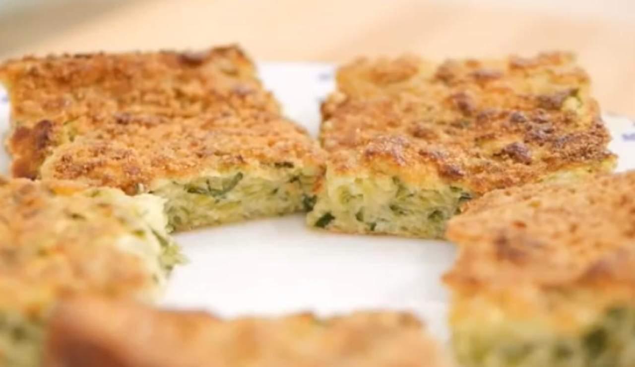 Sformato di zucchine e tonno ricetta
