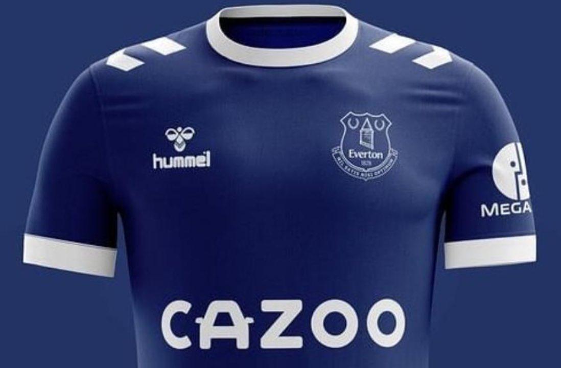 Nuovo sponsor Everton: sulla maglia c'è una parolaccia