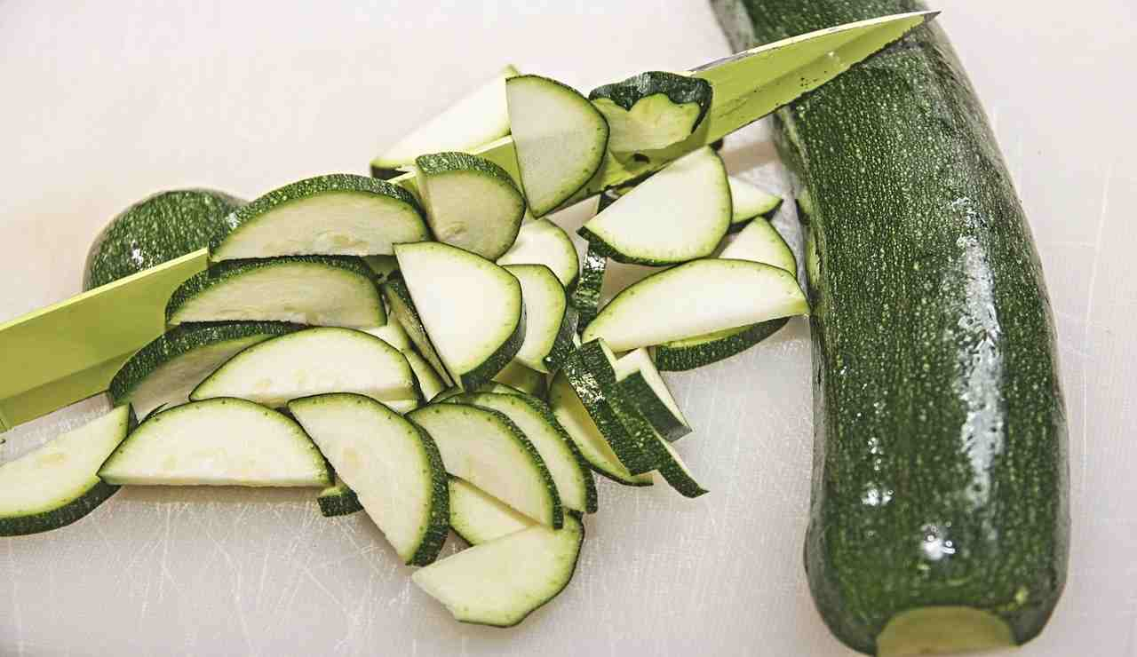 Zucchine per sformato ricetta