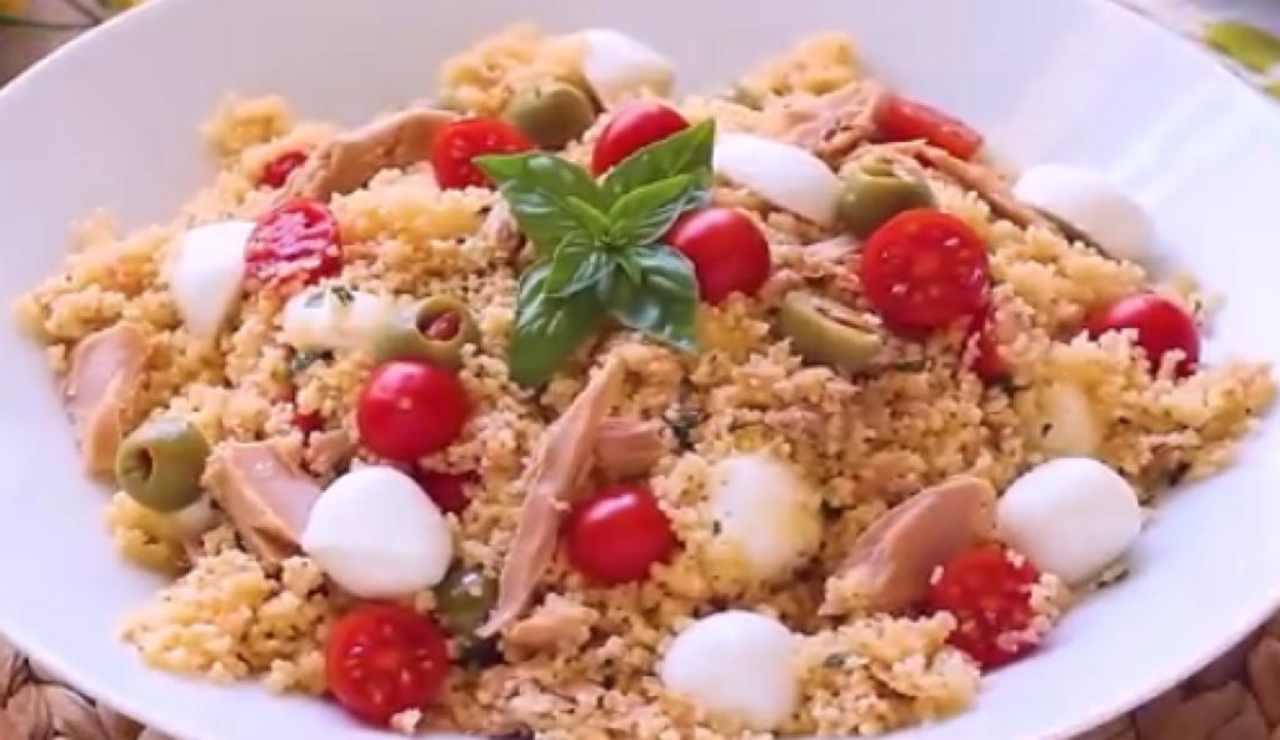 Cous cous pesto ricetta