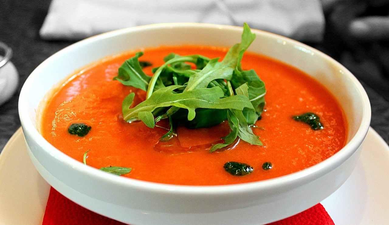 Gazpacho ricetta per zuppa di pomodoro