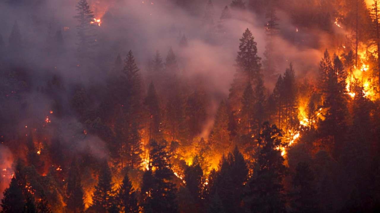 California nella morsa degli incendi |  ottomila sfollati