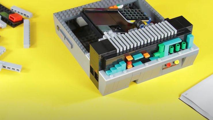 LEGO NES Nintendo sorpresa warp zone