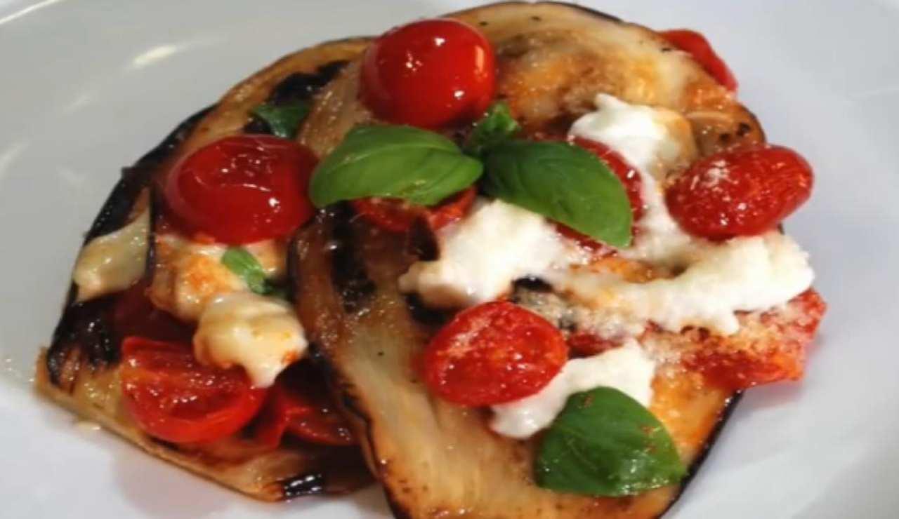 Parmigiana melanzane ricetta leggera