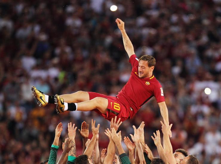 Francesco Totti, addio al calcio