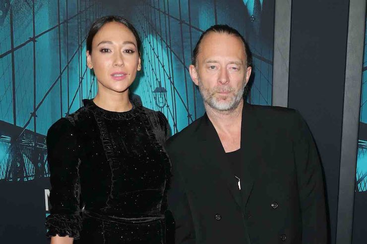 Thom Yorke Dajana Roncione nozze