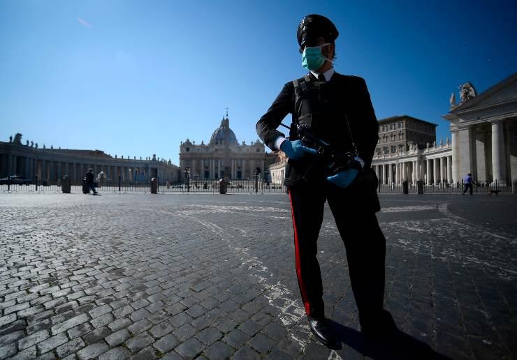 Carabinieri aggredito sparano Roma