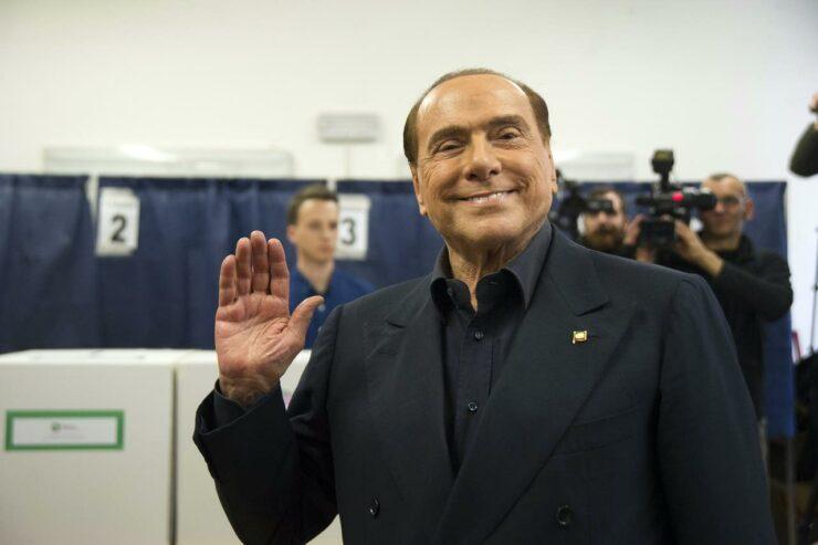 Silvio Berlusconi covid come sta