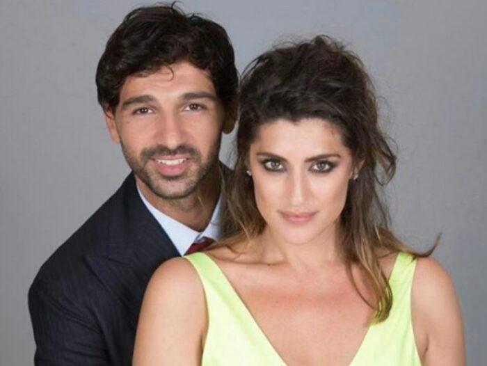 Elisa Isoiardi e Raimondo Todaro bacio