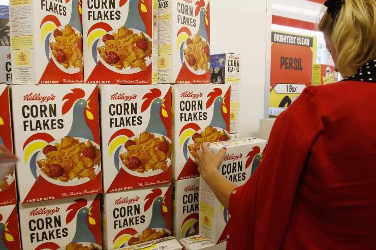 corn flakes richiamo alimentare