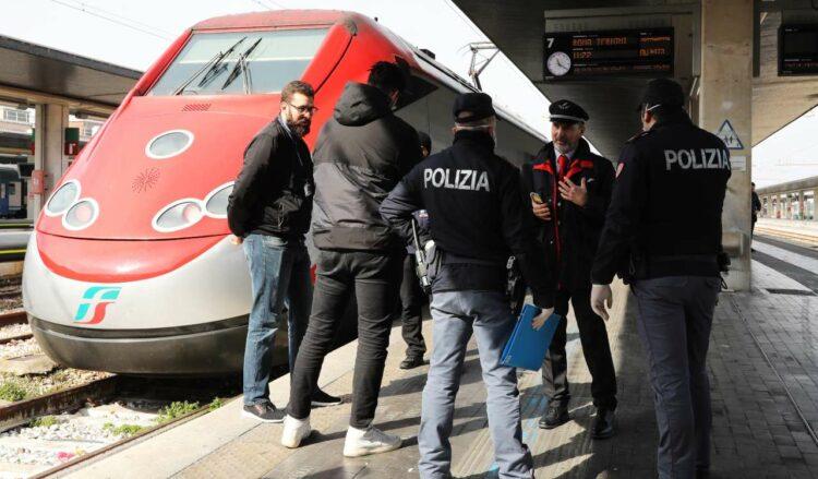 Incidente treno stazione Milano