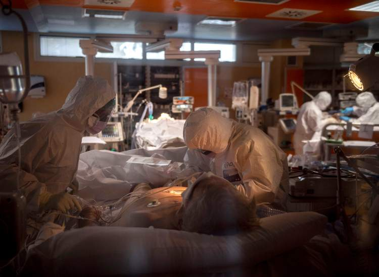 Ospedale operazione in corso