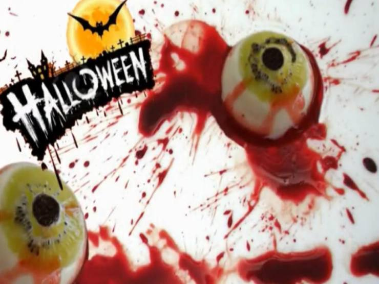 dolce Halloween occhio