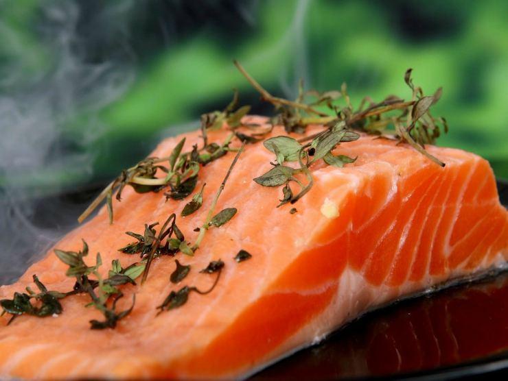 salmone per ricetta polpette