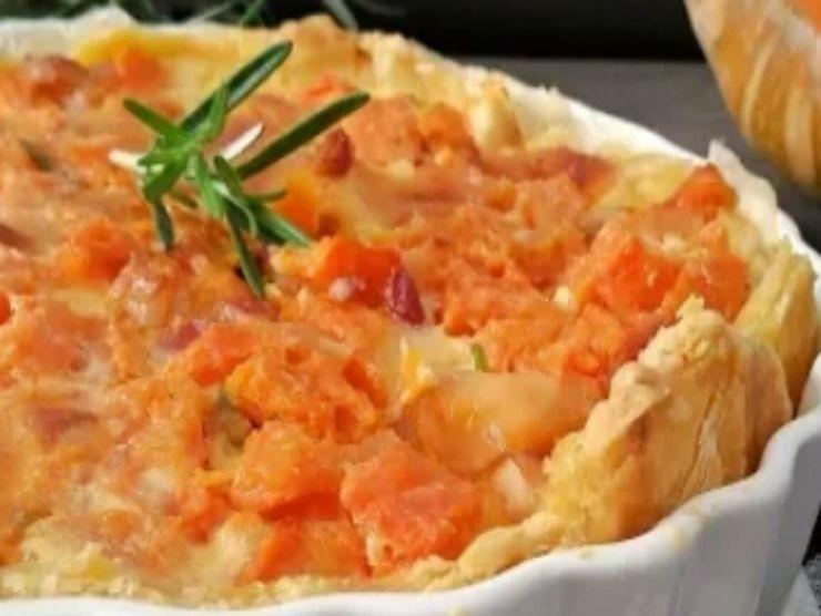 torta rustica zucca patate