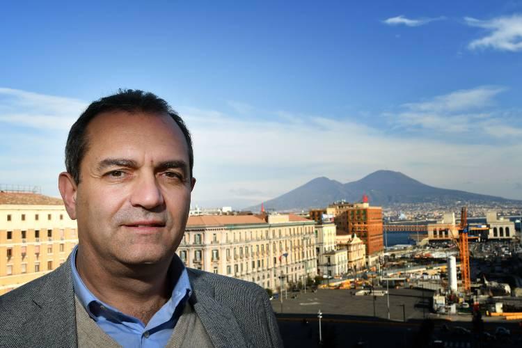 De Magistris Covid Napoli (getty images)