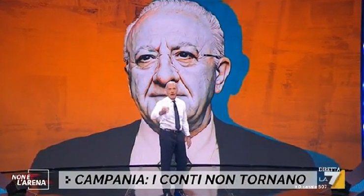 Giletti attacca De Luca