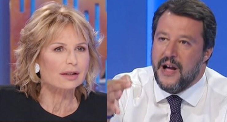 Gruber contro Salvini