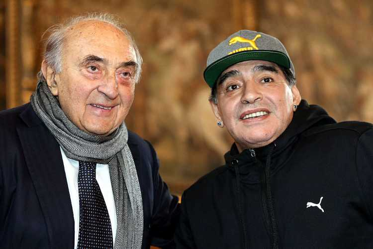 Maradona Ferlaino (getty images)