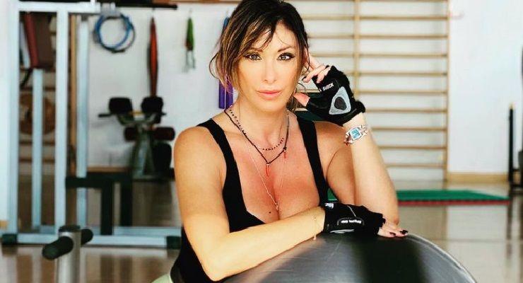 Sabrina Salerno allena