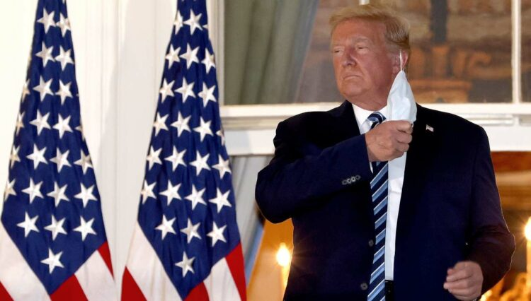 Trump Covid (getty images)