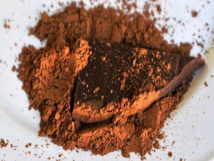 cacao per ricetta mostaccioli