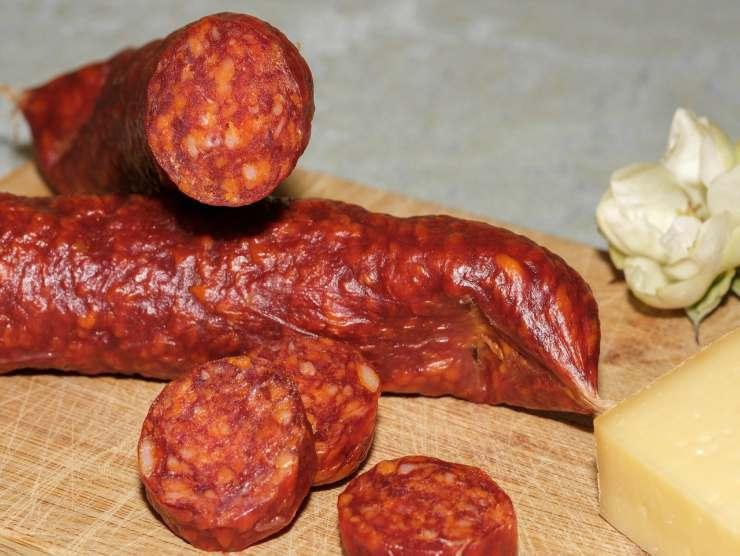 salsiccia piccante richiamo prodotto