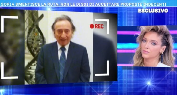 Amedeo Goria replica accuse Ruta