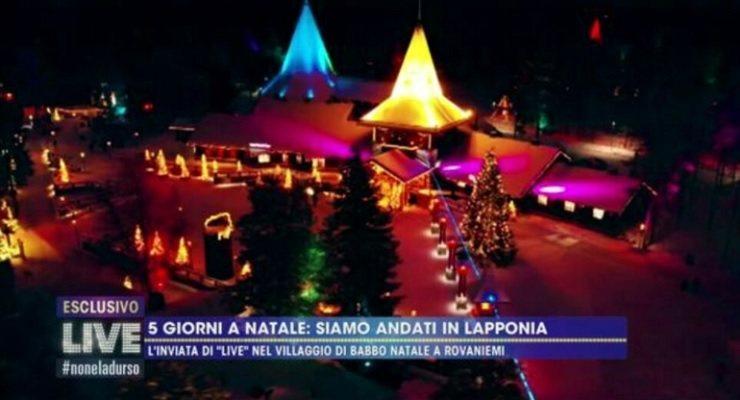 Barbara d'Urso vola in Lapponia